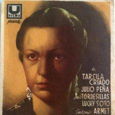 Cine: LA MALQUERIDA-TÁRSILA CRIADO-LÓPEZ RUBIO-JACINTO BENAVENTE-TAMAÑO GRANDE. Lote 38196900