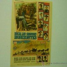 Cine: PROGRAMA HACIA LOS GRANDES HORIZONTES.- ANN MARGRET - VAN HEFLIN. Lote 295550978