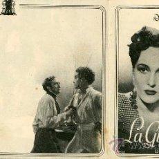 Cine: FOLLETO DE MANO. LA GITANA Y EL REY ANTOÑITA COLOME JORGE MISTRAL. Lote 38303466