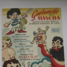 Cine: GARBANCITO DE LA MANCHA. Lote 38315254