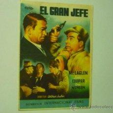 Cine: PROGRAMA EL GRAN JEFE .- VICTOR MC.LAGLEN. Lote 38345253