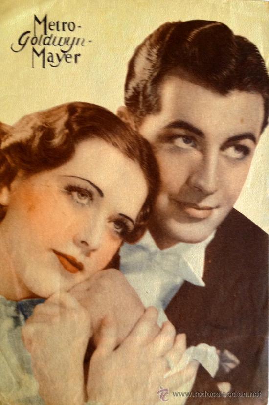 Cine: LA MELODIA DE BROADWAY 1936 - PROGRAMA DOBLE MGM- ROBERT TAYLOR- ELEANOR POWELL - Foto 3 - 59533501