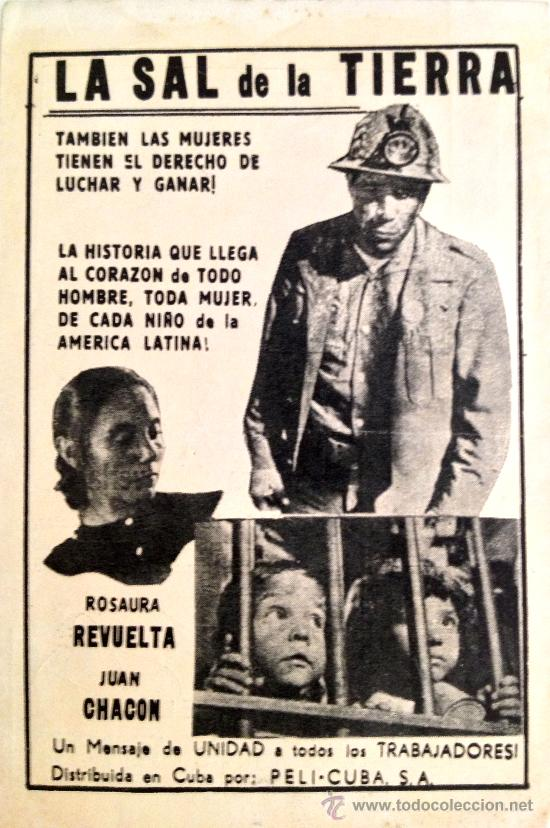 Imagini pentru la sal de la tierra 1954