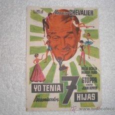 Cine: YO TENIA 7 HIJAS CINE SPRING BARCELONA. Lote 38472077