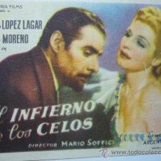 Cine: PROGRAMA EL INFIERNO DE LOS CELOS --. ZULLY MORENO. Lote 38616524