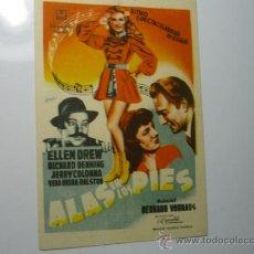 Cine: PROGRAMA ALAS EN LOS PIES.-- ELLEN DREW. Lote 38616546