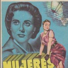 Cine: MUJERES EN LA CALLE. SENCILLO DE CIRE FILMS.. Lote 38642126