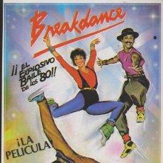 Cine: BREAKDANCE. SENCILLO DE CB FILMS.. Lote 38642152