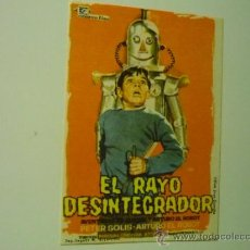 Cine: PROGRAMA EL RAYO DESINTEGRADOR .-. Lote 38708508