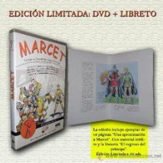 Cine: MARCET- EL DOCUMENTAL- 2013-MOVIOLA FILMS-COLECTIVO DE TEBEOS- ESCASO-ÚLTIMO EJEMPLAR-LEAN-0562. Lote 156187046