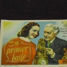 Cine: SU PRIMER BAILE - MARIA DUVAL-ERNESTO VILCHES - . Lote 38904353