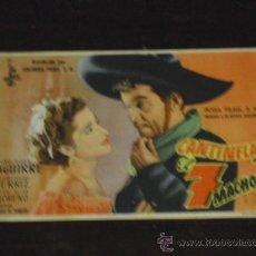 Cine: CANTINFLAS EL 7 MACHOS - CON ALMA ROSA AGUIRRE - CINE DORADO 1951 -. Lote 38904769
