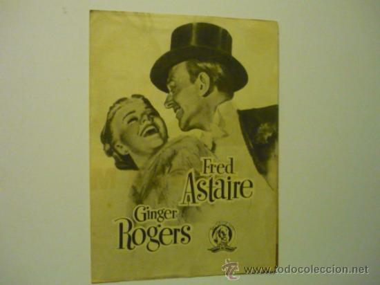 Cine: PROGRAMA DOBLE VUELVE A MI - FRED ASTAIRE -GINGER ROGERS - Foto 1 - 38942875