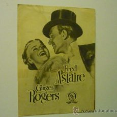Cine: PROGRAMA DOBLE VUELVE A MI - FRED ASTAIRE -GINGER ROGERS. Lote 38942875