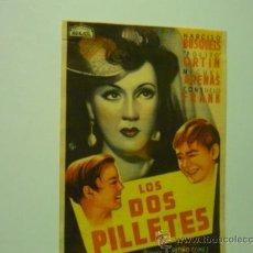 Cine: PROGRAMA LOS DOS PILLETES .-ARAJOL. Lote 38943675