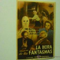 Cine - programa la hora de los fantasmas-publicidad - 38948375