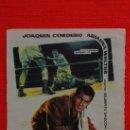 Cine: EL BOXEADOR, SENCILLO DE JANO 1960, EXCTE. ESTADO, JOAQUÍN CORDERO ARIADNA WELTER PUBLICIDAD AVENIDA. Lote 38991331