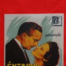 Cine: EXTASIS FUGAZ, IMPECABLE SENCILLO ORIGINAL,PAUL LUKAS MARIE NEY, SIN PUBLICIDAD. Lote 38992052