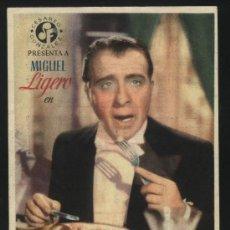 Cine: P-2184- EL REY DE LAS FINANZAS (TEATRO LÓPEZ DE AYALA - BADAJOZ) MIGUEL LIGERO - MERCEDES VECINO. Lote 21865813