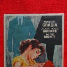Cine: LOS HIJOS AJENOS, SENCILLO 1962, EXCTE. ESTADO, MARÍA GRACIA ALMA ROSA AGUIRRE, CON PUBLI CASABLANCA. Lote 39018155