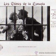Cine: LOS CHICOS DE LA ESCUELA. PITOUTO. PEDRO ELVIRO. FLORIAN REY. PELÍCULA MUDA ESPAÑOLA.. Lote 39044358