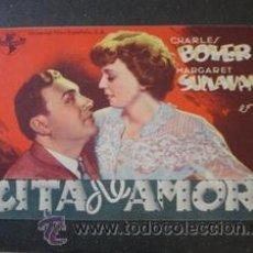 Cine: CITA DE AMOR - CHARLES BOYER / MARGARET SULLAVAN . Lote 39187718