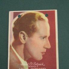 Cine: PROGRAMA DE CINE - INTERMEZZO - 1939 - PUBLICIDAD. Lote 39220269