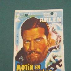 Cine: PROGRAMA DE CINE - MOTÍN EN EL ÁRTICO - 1941. Lote 39282527