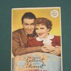 Cine: PROGRAMA DE CINE - EN ESTE MUNDO TRAIDOR - 1939 - PUBLICIDAD. Lote 39299316