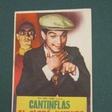 Cine: PROGRAMA DE CINE - EL SIGNO DE LA MUERTE - 1939 - PUBLICIDAD . Lote 39299880
