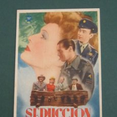 Cine: PROGRAMA DE CINE - SEDUCCIÓN - 1945. Lote 39329795