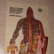 Cine: FOLLETO DE MANO LAS HIJAS DEL CID MIGUEL IGLESIAS 1962. Lote 39267977
