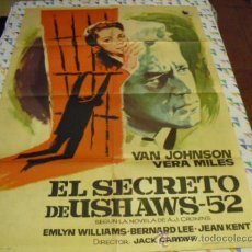 Cine: EL SECRETO DE USHAWS-32 - ORIGINAL - AÑO 1963 -. Lote 39331570