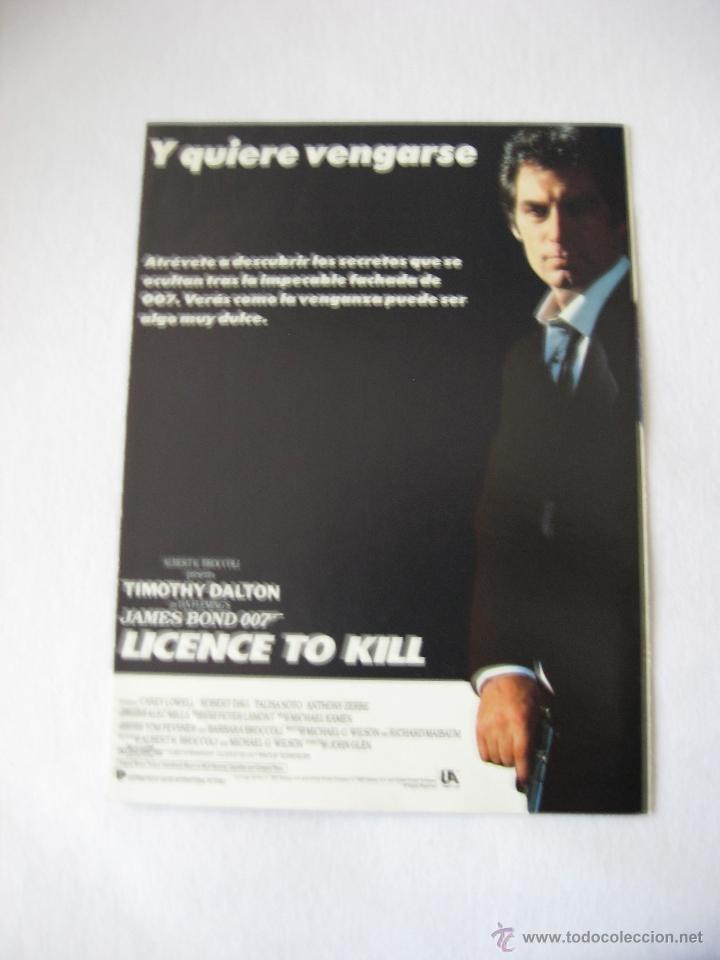 Cine: James Bond. Licencia para matar. - Foto 3 - 39302295