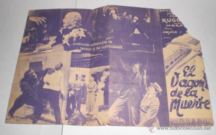 Cine: Programa de Cine Doble - EL VAGON DE LA MUERTE - Foto 2 - 39423204