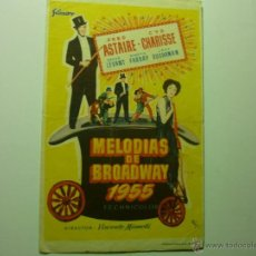 Kino - programa melodias de broadway 1955- fred astaire -cyd charise - 39457889