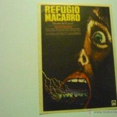 Flyers Publicitaires de films Anciens: PROGRAMA REFUGIO MACABRO.-. Lote 39551714