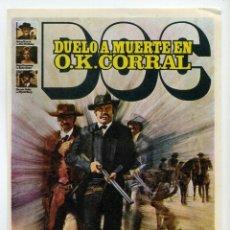 Cine: DOC DUELO A MUERTE EN O.K. CORRAL, CON FAYE DUNAWAY.. Lote 237161060