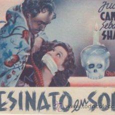 Cine: ASESINATO EN EL SOHO. DOBLE DE ESTRELLA AZUL.. Lote 39666569