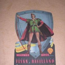 Cine: PROGRAMA TROQUELADO - ROBIN DE LOS BOSQUES - ERROL FLYNN - 1949 . Lote 39707904