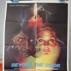 Cine: POSTER ORIGINAL CHI SEI BEYOND THE DOOR JULIET MILLS OVIDIO ASSONITIS 1974 DISEÑADO POR SPATARO. Lote 39920453