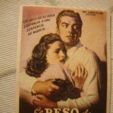 Cine: ANTIGUO FOLLETO CINE PELICULA - PROYECTADA EN ELCHE, AÑOS 40-50. Lote 40077574