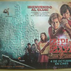 Cine: ZIPI Y ZAPE Y EL CLUB DE LA CANICA.. Lote 118423356