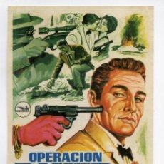 Cine: OPERACIÓN POKER, CON SANCHO GRACIA.. Lote 163001789