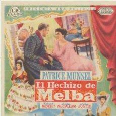 Cine: EL HECHIZO DE MELVA. SENCILLO DE CB FILMS.. Lote 40621548