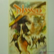 Cine: PROGRAMA DJANGO - FRANCO NERO. Lote 40801227