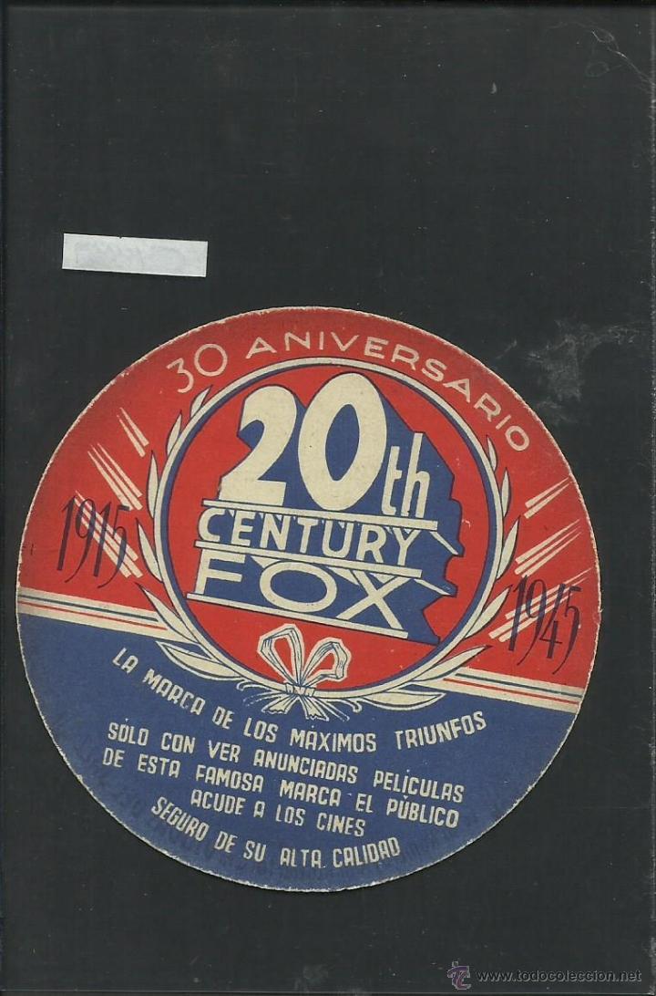 Cine: VIUDAS DEL JAZZ - TROQUELADO 20 TH CENTURY FOX - (C-1337) - Foto 2 - 40817676
