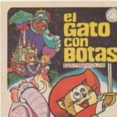 Cine: EL GATO CON BOTAS. SENCILLO DE IZARO FILMS.. Lote 40832661