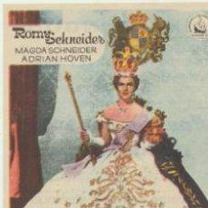 Cine: LOS JÓVENES AÑOS DE UNA REINA. DE DIPENFA.CINE MUNGUÍA-BILBAO. ¡IMPECABLE!. Lote 40878202