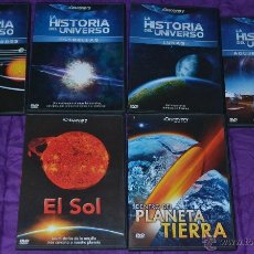 Cine: LOTE DE SEIS DOCUMENTALES DISCOVERY CHANNEL. Lote 40939278